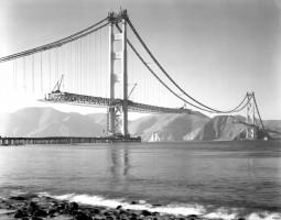 Most Golden Gate od Zdjęcie z budowy