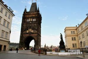 Most Karola od fot. Ignaz Wiradi