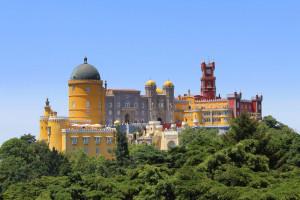 Pałac Pena w Sintrze od Singa Hitam
