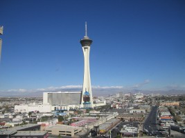 Stratosphere Tower by Sahmeditor