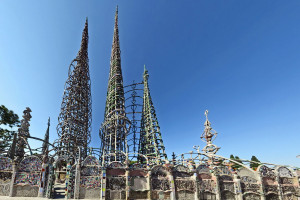 Watts Towers od Vahe Martirosyan