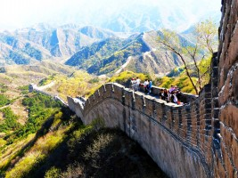 Great Wall of China by fot. Agnieszka Rumińska